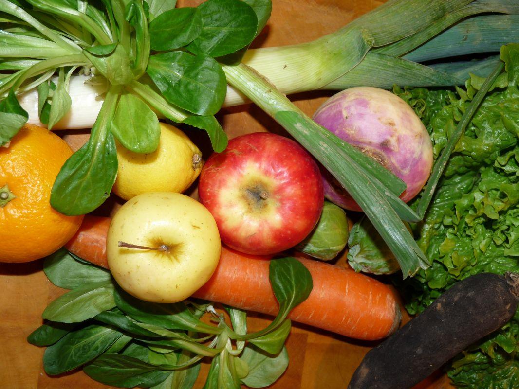 Découvrez les fruits et légumes de saison