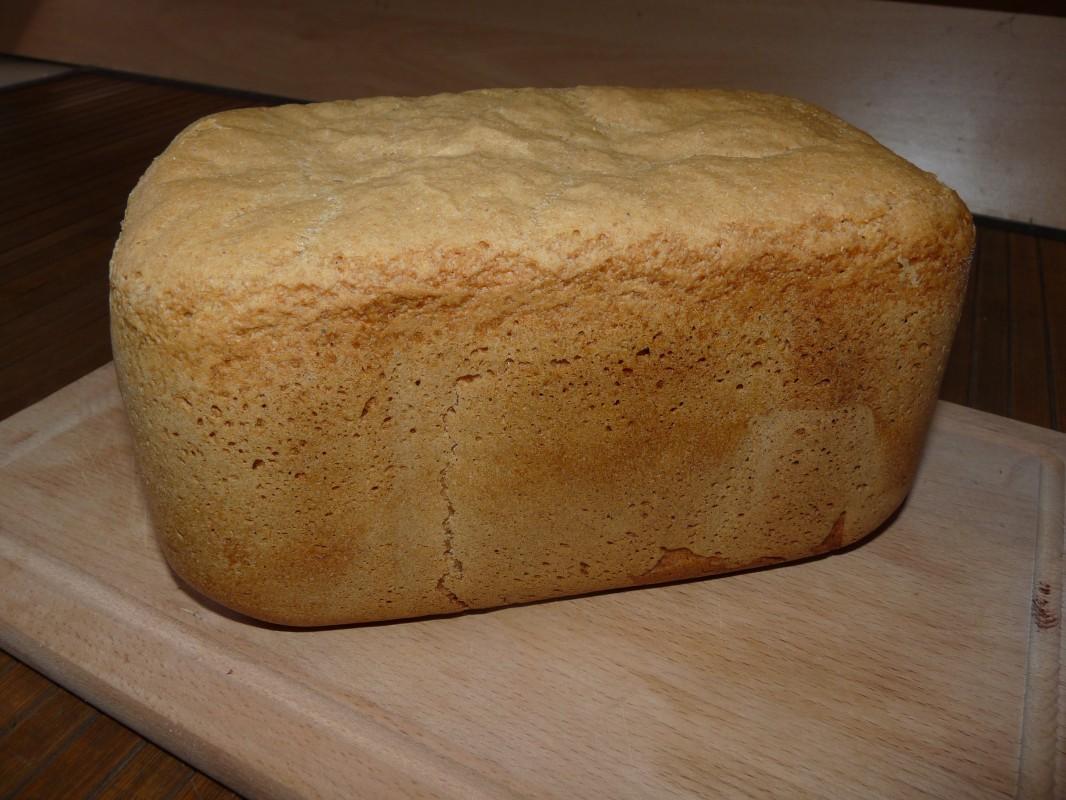 Faire son pain à la machine, avec de la farine bise (T80) : hum !