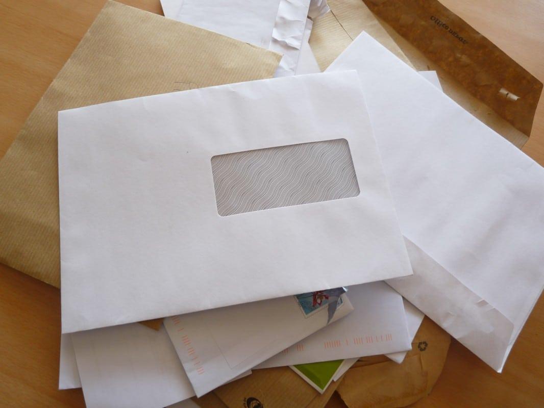 Que faire de toutes nos enveloppes utilisées ?