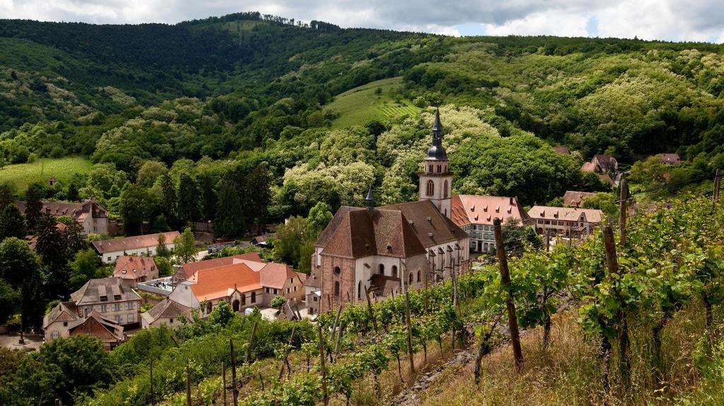 Passer les vacances d'été en Alsace
