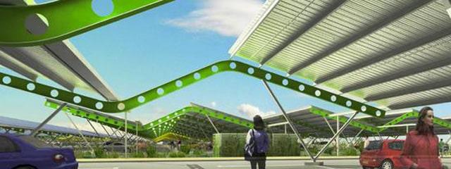 Bordeaux décide de s'équiper d'une toiture solaire géante