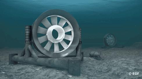 Première mondiale: EDF installe sa première hydrolienne!