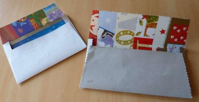 Enveloppes avec papier recyclé