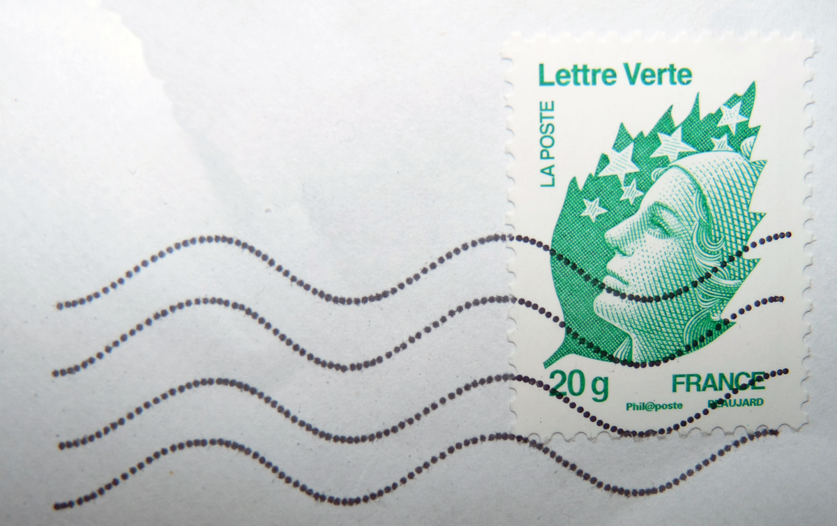Petit geste écolo de La Poste : le timbre vert