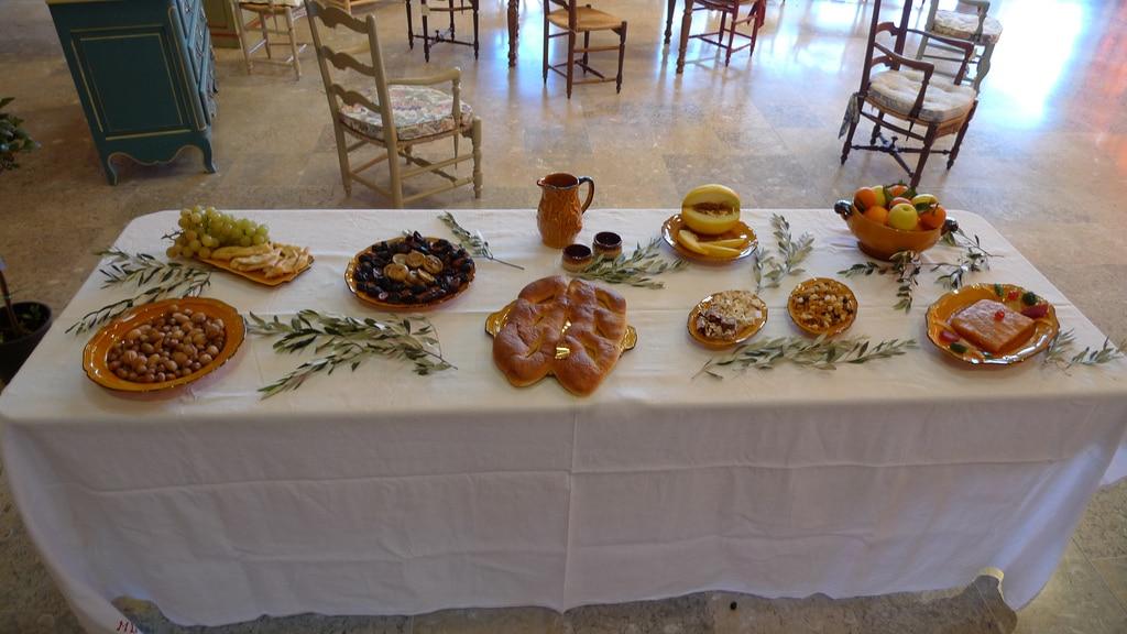 Les 13 desserts : la pompe à huile ou gibassié