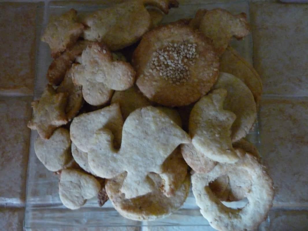 Recette de petits gâteaux sablés aux graines de sésame