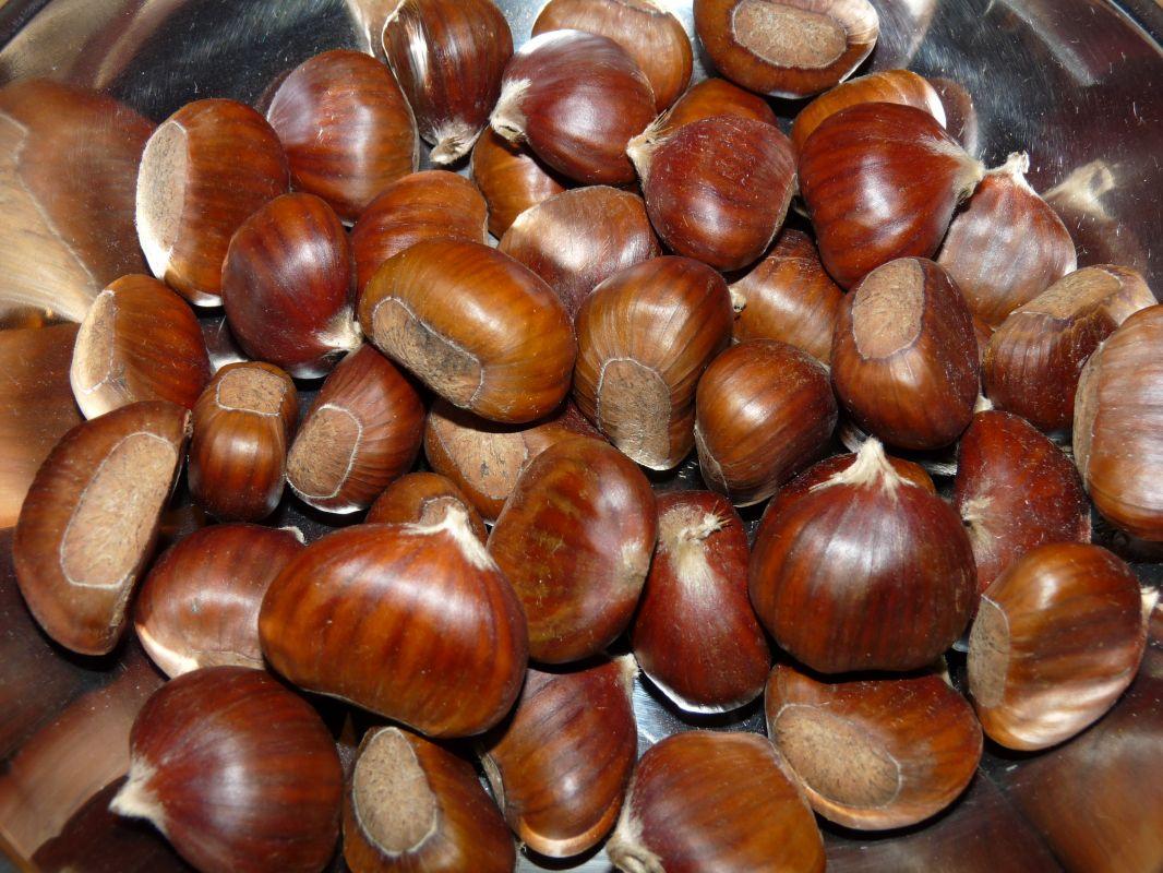 Flan aux marrons et au seïtan