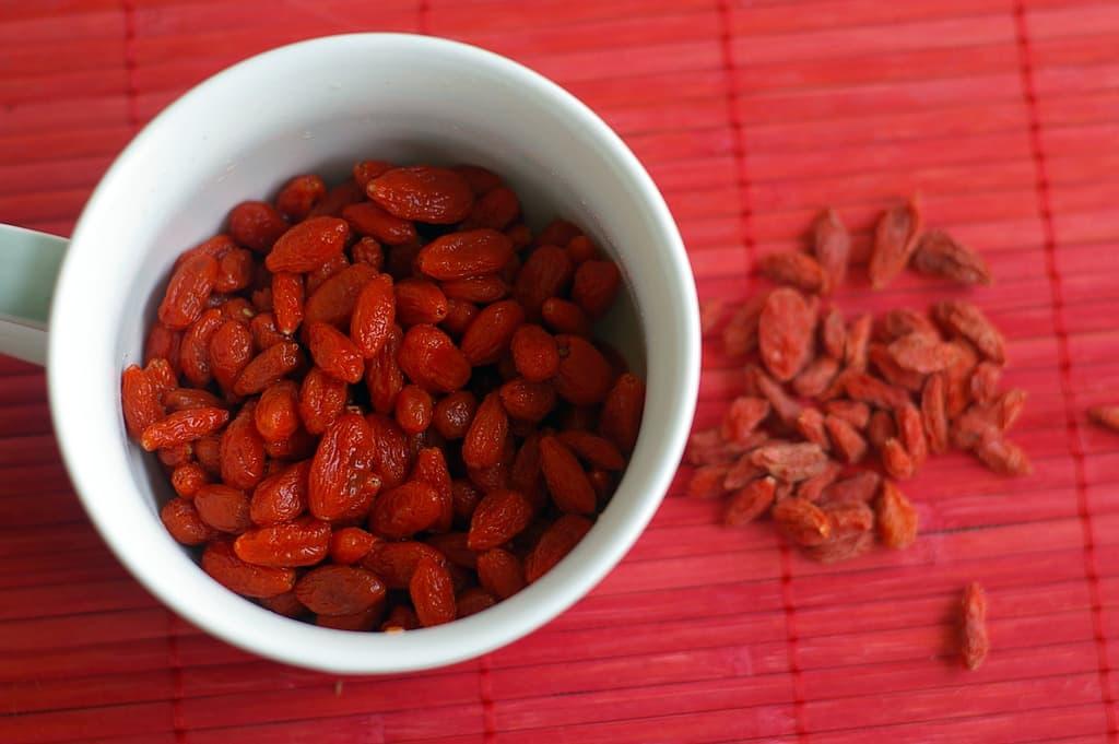 Les bienfaits des baies de goji, le fruit de la longévité…
