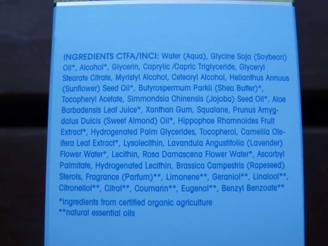 Dans nos cosmétiques : glycine Soja Oil