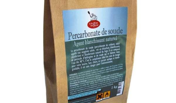 percarbonate de soude pour remplacer l'eau de javel