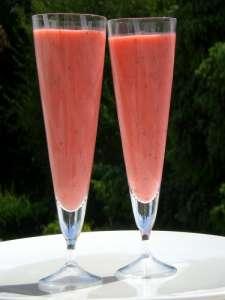 soupe de fraises-melon