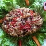 Steak végétal aux légumes du soleil