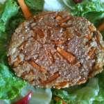 Steak végétal à la courge et au gingembre