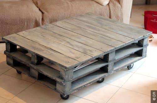 6 id es pour recycler les palettes autour du naturel. Black Bedroom Furniture Sets. Home Design Ideas