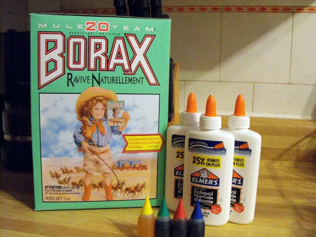 Le borax dans nos produits ménagers : sans danger ?