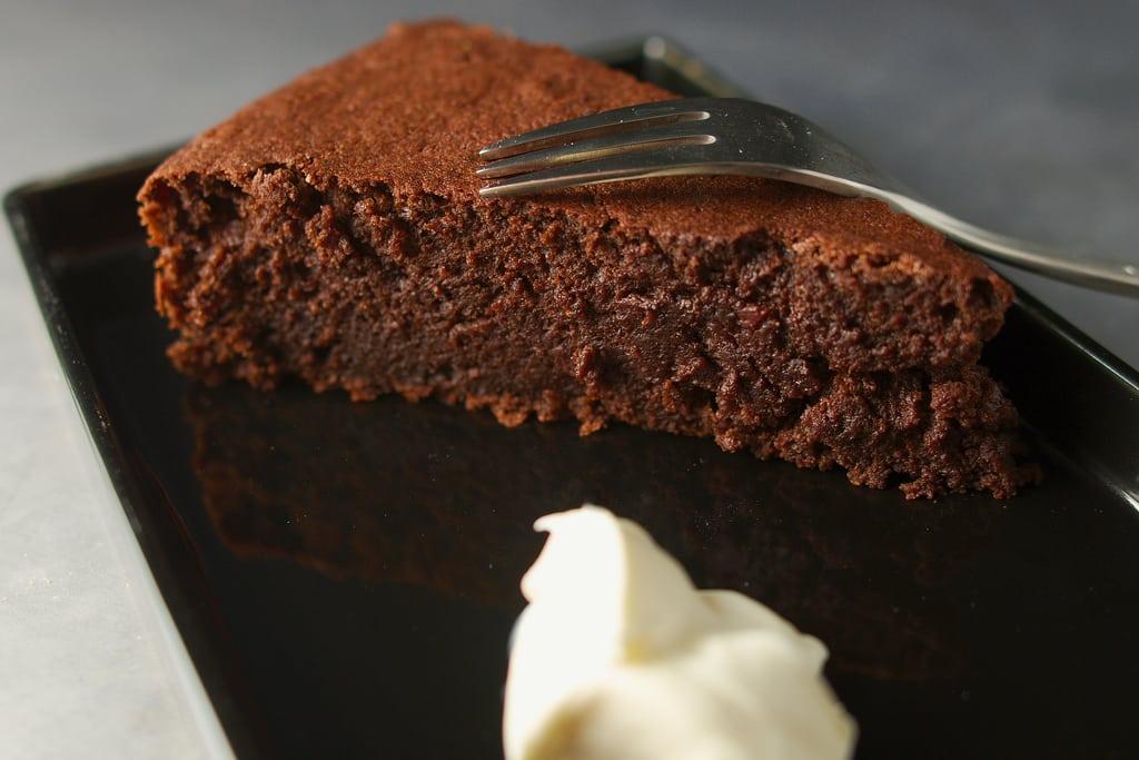 Fondant de chocolat et betterave