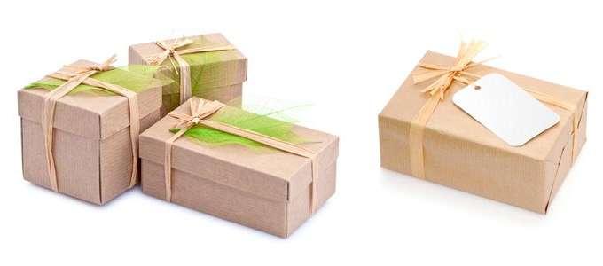 Emballer ses cadeaux colo id es originales autour du naturel - Ou acheter du papier cadeau ...