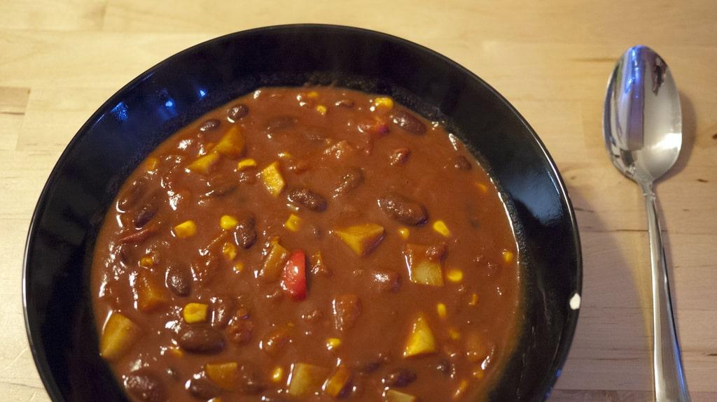 Chili sin carne: le chili végétarien