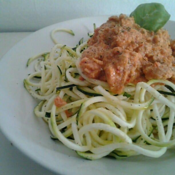 Spaghettis à la bolognaise de seïtan