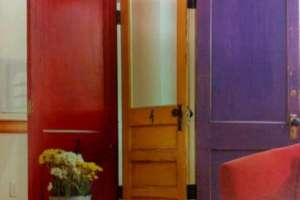paravent en vieilles portes