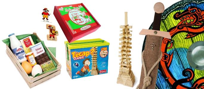 Les jouets en bois éco-responsables