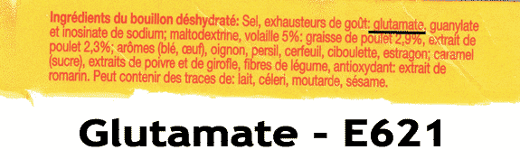 Le glutamate, quel danger pour la santé ?