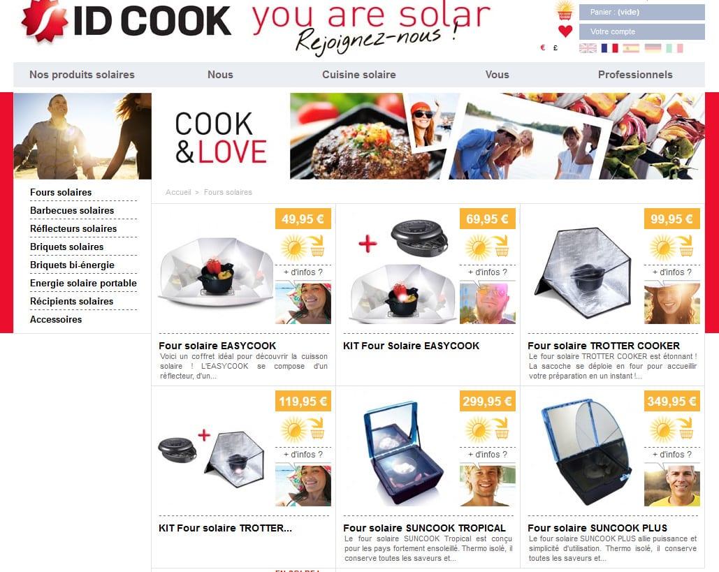 Code promo chez  ID Cook pour nos lecteurs