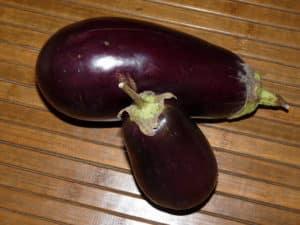 Les aubergines pour soigner les verrues