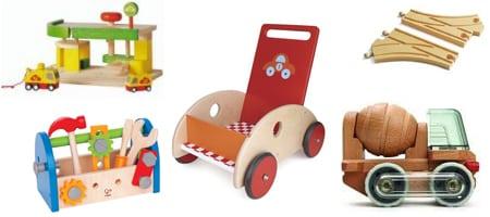 5 bonnes raisons d'offrir des jouets en bois