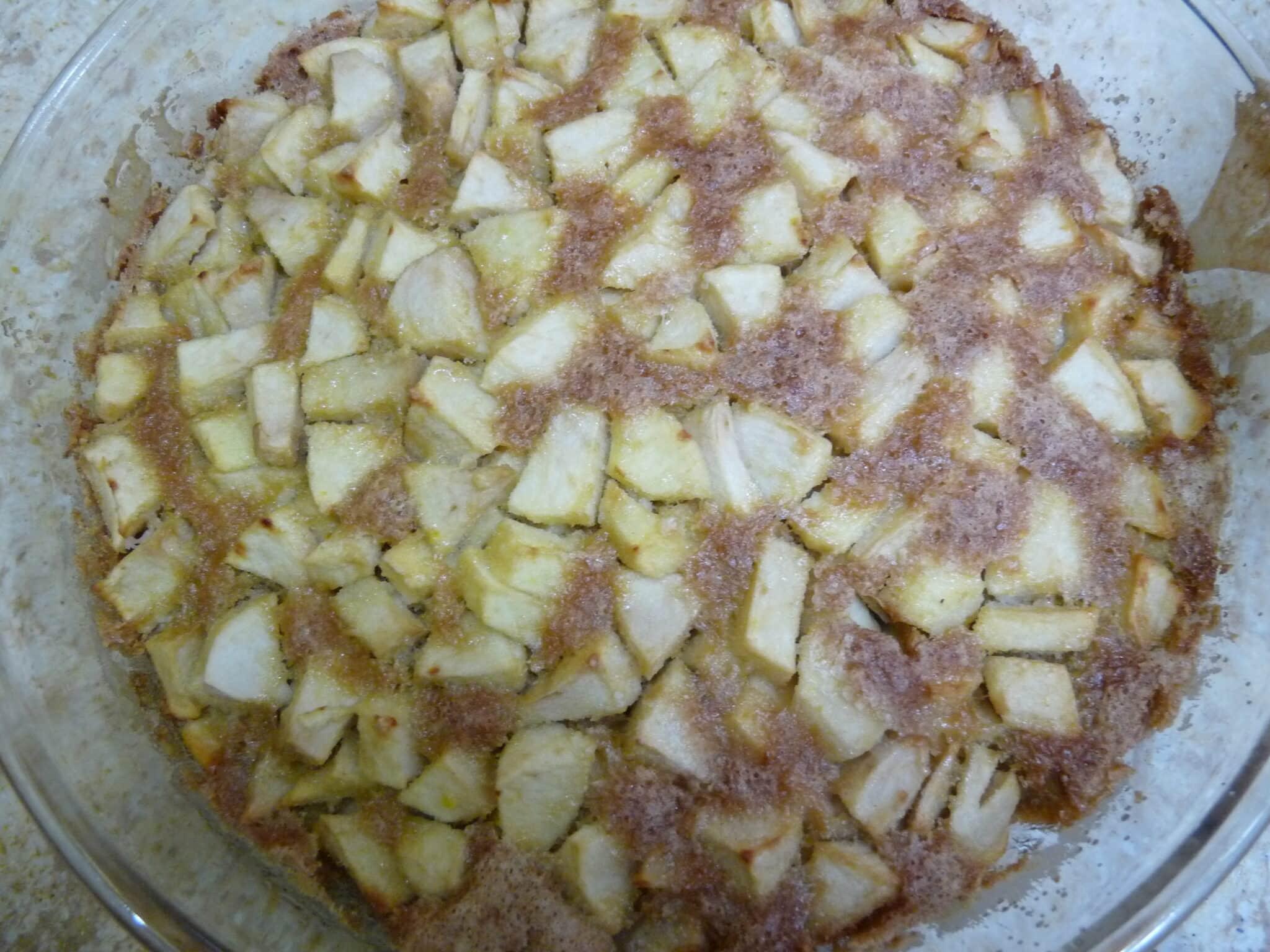 A essayer: le gâteau aux pommes sans gluten