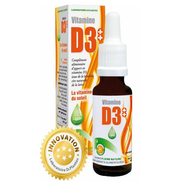 Vitamine D3 plus – D. Plantes
