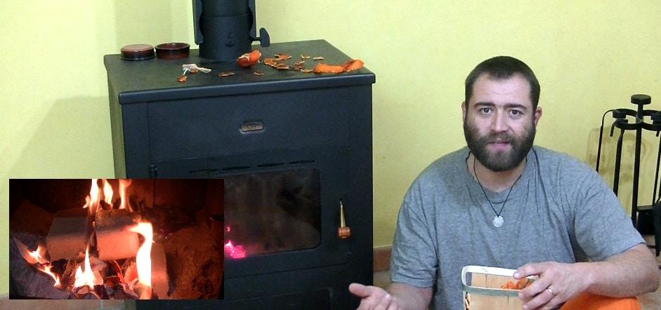 Défi 100  vidéos – Jour 12 – Faire un allume feu naturel