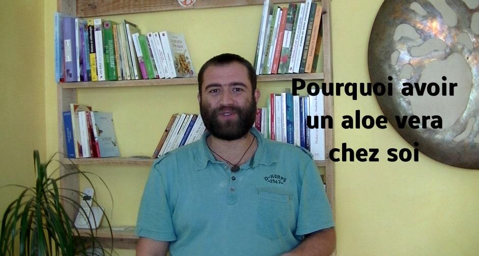 Défi 100 vidéos – Jour 18 – Pourquoi avoir un aloevera chez soi