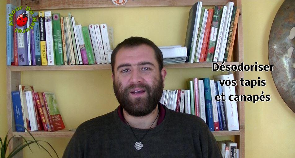 Défi 100 vidéos – Jour 29 – Désodoriser tapis et canapés