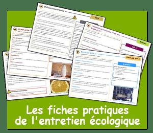 fiches pratiques entretien écologique